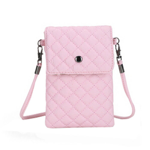 Universal Cellphone Leather Bag Crossbody Purse with Shoulder Strap for iphone