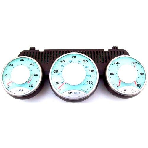 Peugeot 807 2.2 Rev Counter Speedo Fuel + Temperature Gauge 1496273080