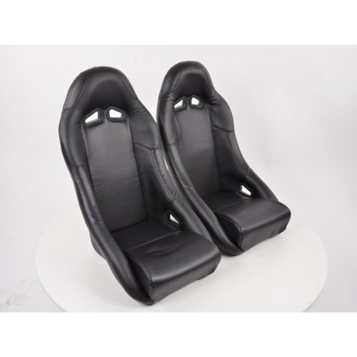 Sportseat Set Club artificial leather black