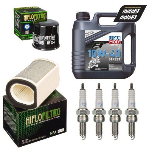 Service Kit Yamaha FJR 1300 13-18 Oil & Air filter Oil spark plug
