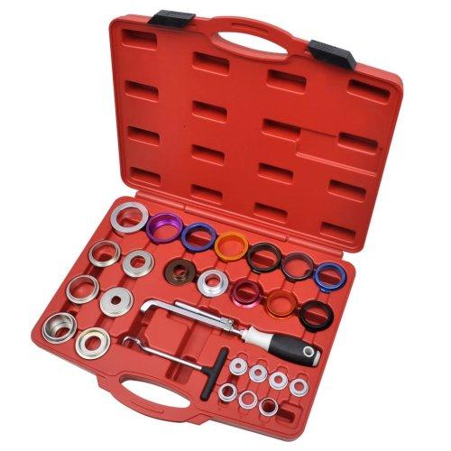 Crankshaft & Camshaft Oil Seal Remover and Installer Tool Set Kit Angled Blades