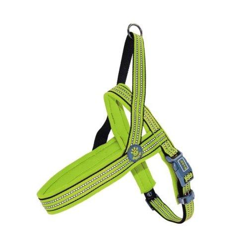 Doco DCV201-07M O-Ring Vario Neoprene Dog Leash Harness, Light Green - Medium