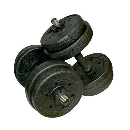 15kg Complete Weights Set -  15kg weights set complete