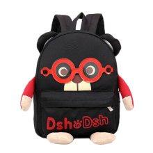1-3 Years Old Children Cute cartoon Shoulder Small Bag Backpack Bag, Black