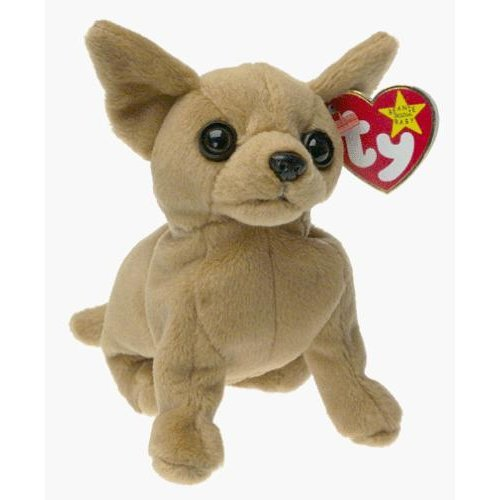 Ty Beanie Babies Tiny the Chihuahua Dog