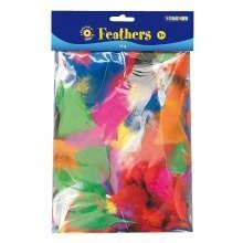 Pbx2470038 - Playbox - Feathers (various Colours) - 14 G