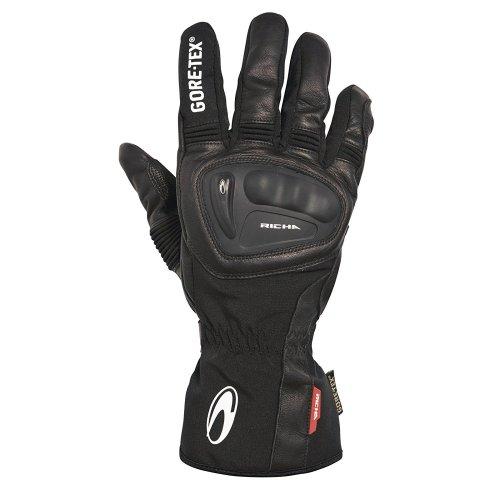 Richa Hurricane GTX Gore-Tex 100% Waterproof Leather Motorcycle Motorbike Gloves