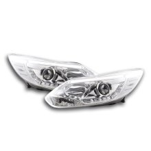 Daylight headlight Set Ford Focus 3 Year 2010- chrome