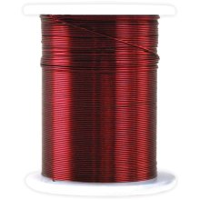 Metallic Beading & Jewelry Wire 28 Gauge 32'-Red