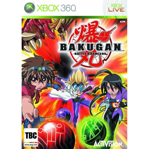 Bakugan Battle Brawlers Xbox 360 Game