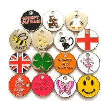 New Shape Trolley Token Coin Keyring - You Pick
