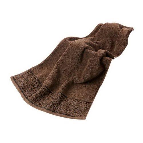 Soft Absorbent Cotton Towels Thicken Multi-purpose European Elegant Towel, Brown