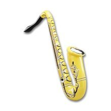 """Inflatable Saxaphone 33"""" - New Instrument Decoration Props - New Inflatable Saxaphone Instrument Decoration Props"""