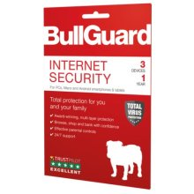 Bullguard Internet Security 2019 Retail, 3 User (10 Pack), Multi Device Licence, 1 Year