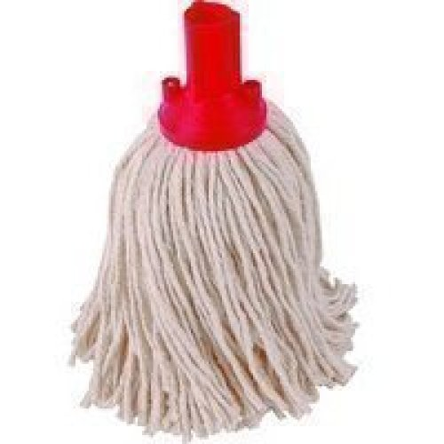EXEL PYRE2510L Mop Head, 250 g, Red (Pack of 10)