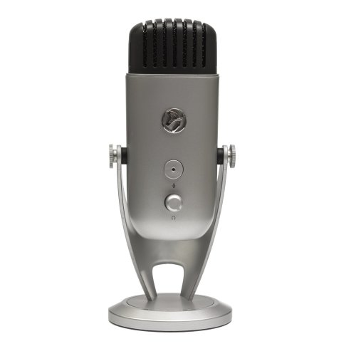 Arozzi Colonna Table microphone Wired Silver