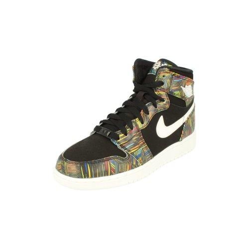 Nike Air Jordan 1 Retro High BHM GG Hi Top Trainers 739640 Sneakers Shoes