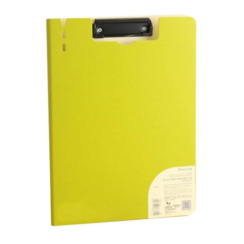 A5 Clipboard, Profile Clip For Office/Sudent, Green