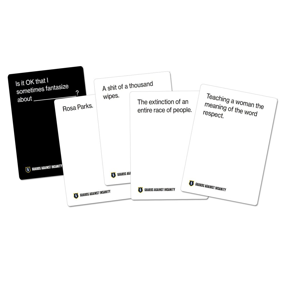 Guards Against Insanity Edition 3 An Unofficial Naughty Expansion Pack for CAH