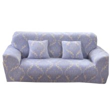 Couch Sofa Covers Double Sofa Blue Grid Couches Decoration