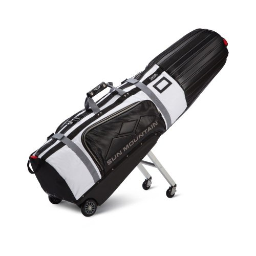 Golf Travel Covers | Sun Mountain ClubGlider Tour Series Golf Travel Cover Black/White