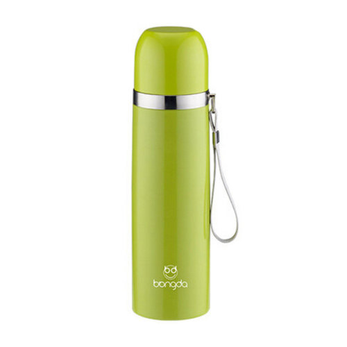 Elegant Travel Mug Stainless Steel Vacuum Drink Bottle 500ML,Green