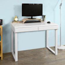 SoBuy® FWT27-W Home Office Table Desk Computer Desk High Gloss Surface