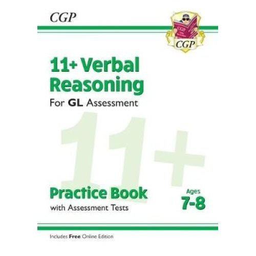 New 11+ GL Verbal Reasoning Practice Book & Assessment Tests - Ages 7-8 (with Online Edition)