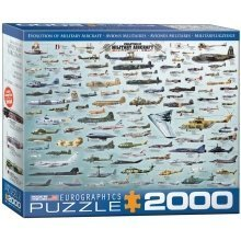 Eg82200578 - Eurographics Puzzle 2000 Pc - Evolution of Military Aircraft