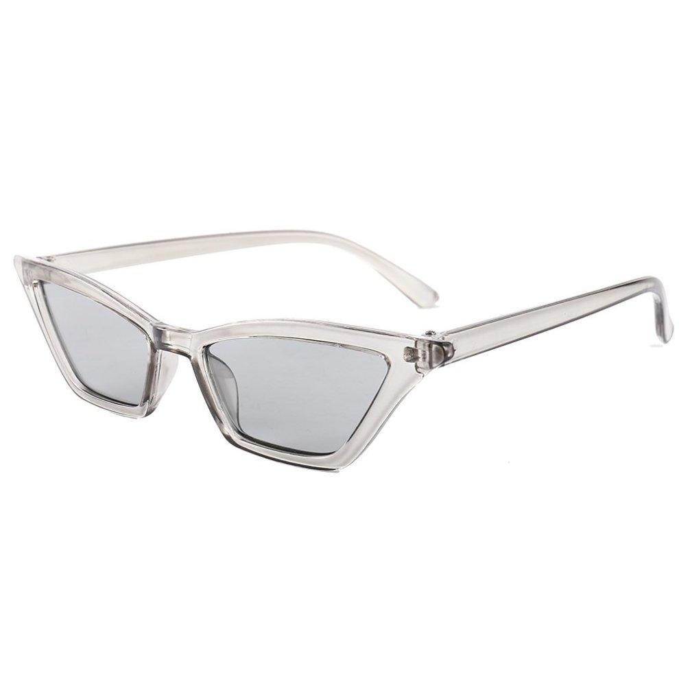 46667089a3 Women Cat Eye Sunglasses Retro Small Frame UV400 Eyewear Fashion Ladies  Byste Stage Catwalk Masquerade Decorative Glasses