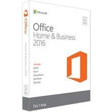 Microsoft Office Mac Home & Business 2016, EN 1user(s) English