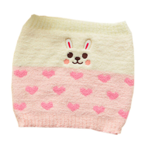 [Pink] Keep Your WAIST/STOMACH/TUMMY Cashmere Belt Lovely Rabbit