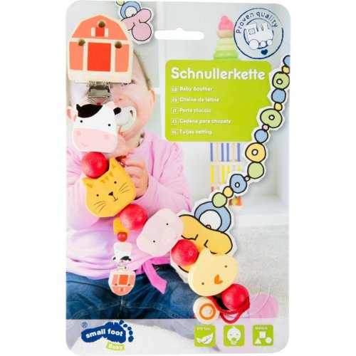 Baby Soother Chain - Farm