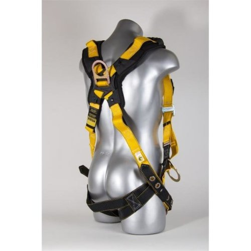 11165 M-L Seraph Universal Harness with Leg Tongue Buckle Straps and Side D-Rings