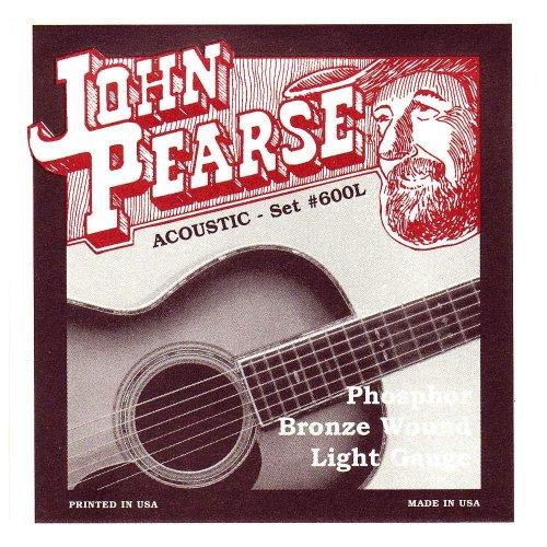 John Pearse Strings Light Guitar Set - Phosphor Bronze