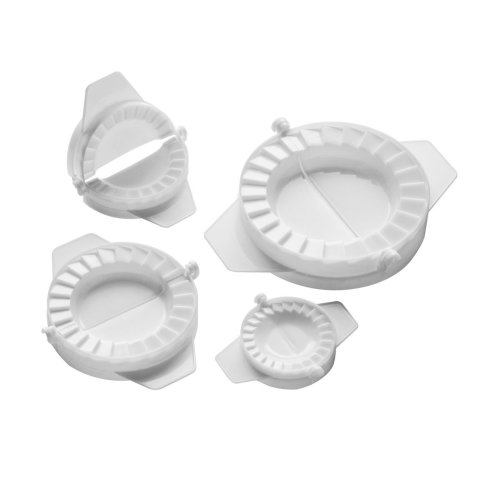 Set Of 4 Pastry Moulds, White