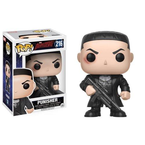 "FUNKO POP! 11092 ""Bobble Daredevil Punisher "" Figure"