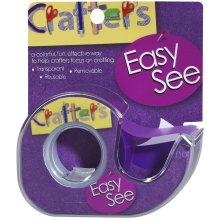 "Lee Products Crafter's Easy See Removable Tape .5""X720""-Purple"