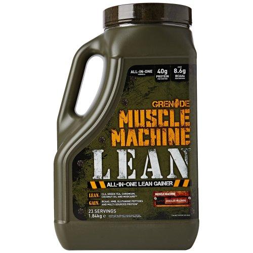 Grenade Muscle Machine Lean Gainer, Chocolate Milkshake - 1.84 kg