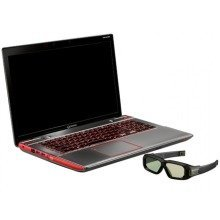 "Toshiba Qosmio X870 17.3"" 3D Gaming Laptop - i7 2.3Ghz Quad, 16Gb, MXM Nvidia GTX 680M GPU, 480Gb SSD + 1Tb HDD"