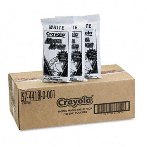 Crayola. 574418 Model Magic Modeling Compound  8 oz  White  96 oz