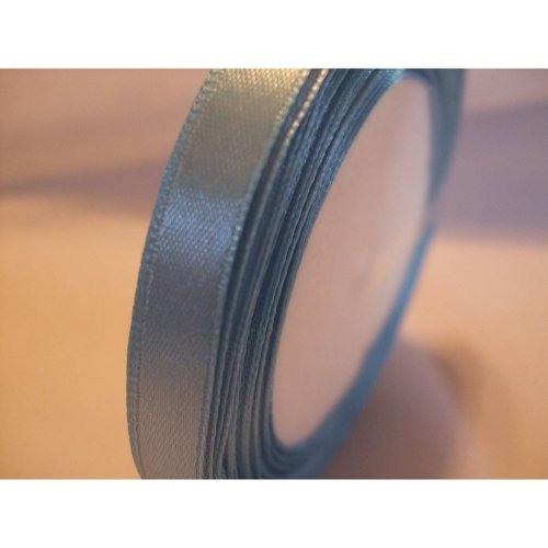 Satin Ribbon Roll - 10mm Wide - 25 Yards (22 Metres) - Sky Blue