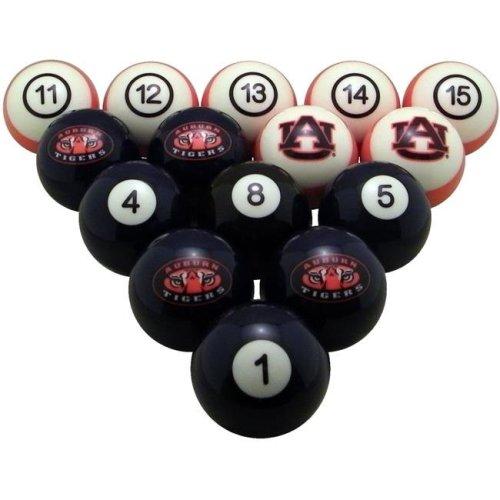 Wave7 AUBBBS200N Auburn University Billiard Numbered Ball Set