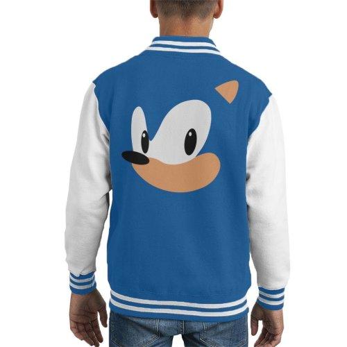 Sonic The Hedgehog Portrait Kid's Varsity Jacket