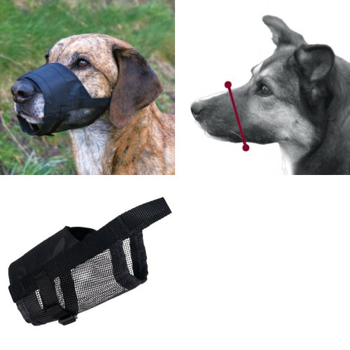 Trixie Dog Muzzle With Net Insert