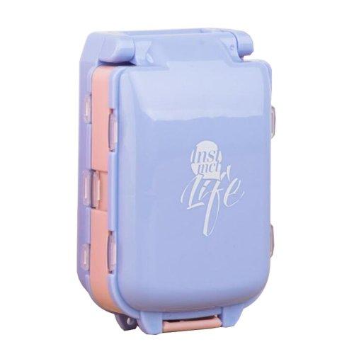 Travel Medication Pill Organizer Box