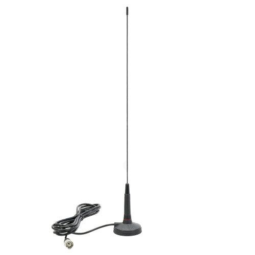 Antenna CB Sirio Micro 60 52cm, 26-28MHz, magnet included