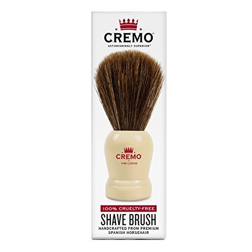 Cremo 100 Cruelty Free Shave Brush Handcrafted From Premium Spanish Horsehair