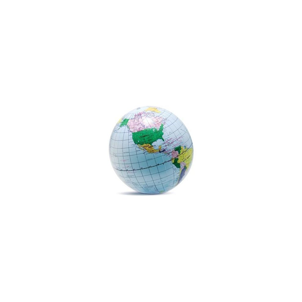 40cm inflatable globe prop world map blow up ball earth atlas party beach inflatable