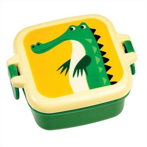 Mini Plastic Snack Pot Boxes School Picnic Pack Food Storage Animal Crocodile